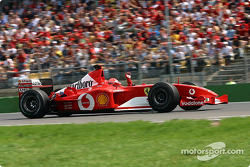 Pole winner Michael Schumacher