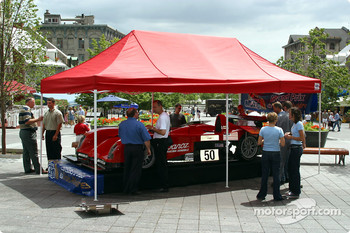 The ALMS and Panoz made a quick stop in Old Montréal before heading to Trois-Rivières