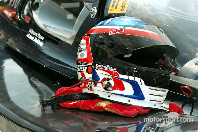 Helmet of Jack Baldwin
