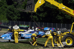 Off-track excursion for Alex Tagliani