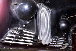 Jowett Jupiter inside of hood