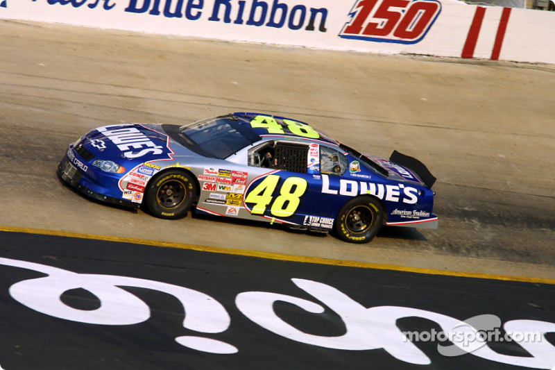 Jimmie Johnson At Bristol Ii