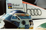 Helmet of Stefan Johansson