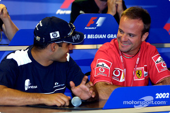 Thursday press conference: Juan Pablo Montoya and Rubens Barrichello