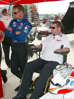Greg Ray and Sam Schmidt