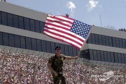 A patriotic moment