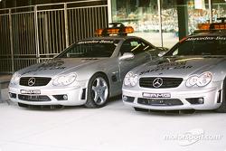 Mercedes-Benz safety cars