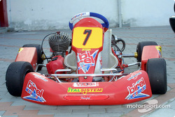 The Birel Motorsport 100cc kart