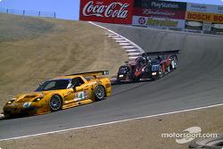 Corvette Racing Chevrolet Corvette C5-R and Chad Block