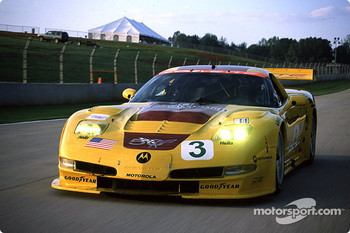 A lap around the track with the Chevrolet Corvette C5-Rs