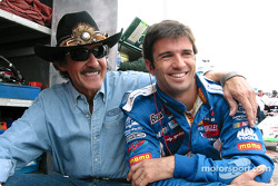 Richard Petty and Christian Fittipaldi