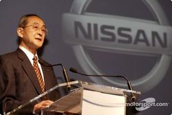 Nissan Rally Raid Team launch: Mr. Sasaki