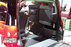 Cargo space of the Honda Element
