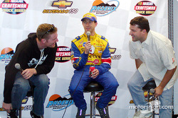 Dale Earnhardt Jr., John Andretti and Tony Stewart