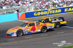 Mike Skinner and Ward Burton