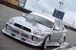 Subaru WRX in Senna Esses