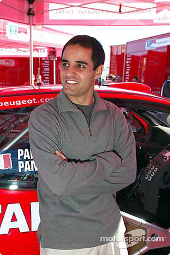 Juan Pablo Montoya visits World Rally Championship