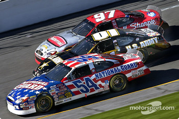 Todd Bodine, Jerry Nadeau and Kurt Busch