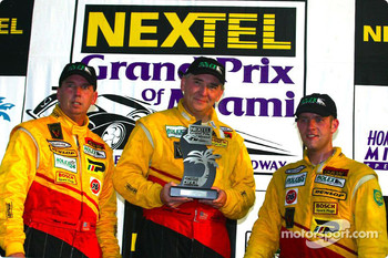 The podium: SRPII winners Steve Marshall, Danny Marshall and Shawn Bayliff