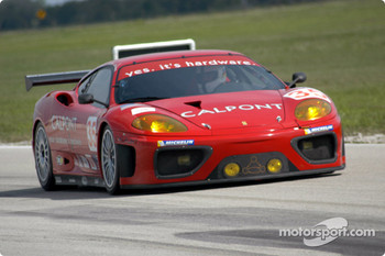 #35 Risi Competizione Ferrari 360 Modena: Terry Borcheller, Anthony Lazzaro, Ralf Kelleners