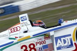 J.J. Lehto in the #38 Audi R8 of Team ADT Champion Racing
