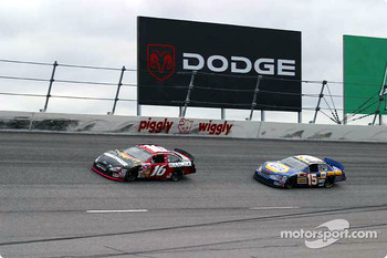 Greg Biffle and Michael Waltrip