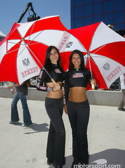 The charming Tecate girls