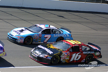 Jimmy Spencer and Greg Biffle