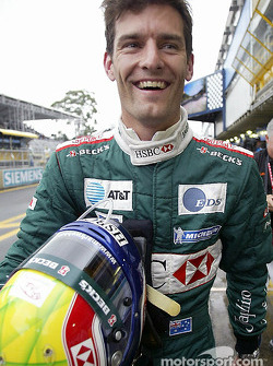 Provisional pole position holder Mark Webber