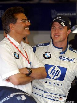 Mario Theissen and Ralf Schumacher