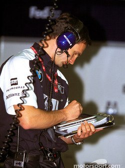Williams-BMW team member