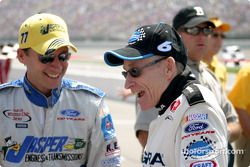 Dave Blaney and Mark Martin