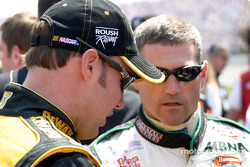 Jimmie Johnson and Bobby Labonte