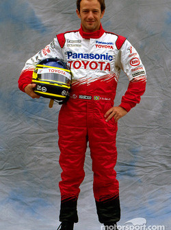 Toyota photoshoot: Cristiano da Matta