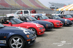 Track Time's BMW Z3 Autocross cars