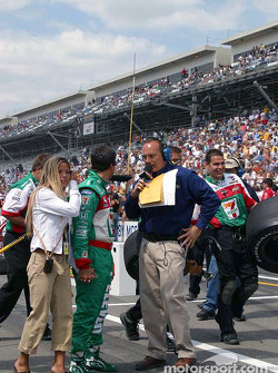 Michael Andretti and Dr Punch