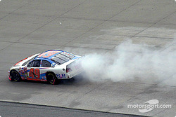 Ken Schrader smoking