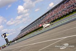 Longest straightaway in NASCAR