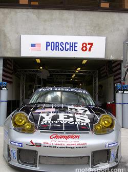 #87 Orbit Racing pit area