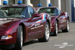 Official pace cars for the 2003 24 Hours of Le Mans: Chevrolet Corvette