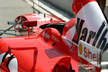 Ferrari goes to technical inspection