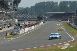 #72 Luc Alphand Aventures Ferrari 550 Maranello: Luc Alphand, Frédéric Dor, Jérôme Policand