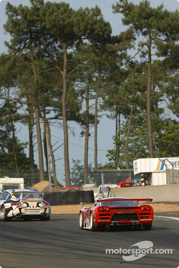 #64 Graham Nash Motorsport Saleen S7-R: Pedro Chaves, Mike Newton, Thomas Erdos