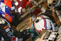 Pitstop for #15 Racing for Holland Dome S101 Judd: Jan Lammers and Andy Wallace