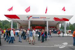 Toyota merchandising area