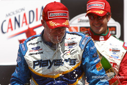 Too much champagne for Paul Tracy