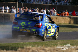 Petter Solberg in 2002 Subaru Impreza WRC