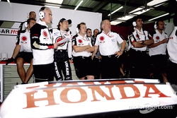 Jenson Button and David Richards