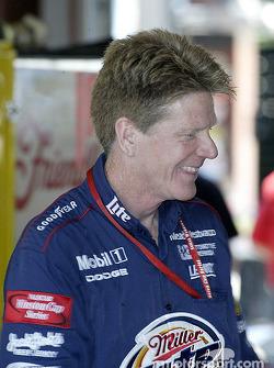 Penske Racing crew member