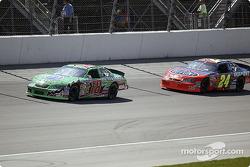 Bobby Labonte and Jeff Gordon